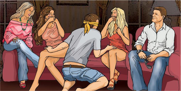 молодой девушки играют в карты на секс желания выбор